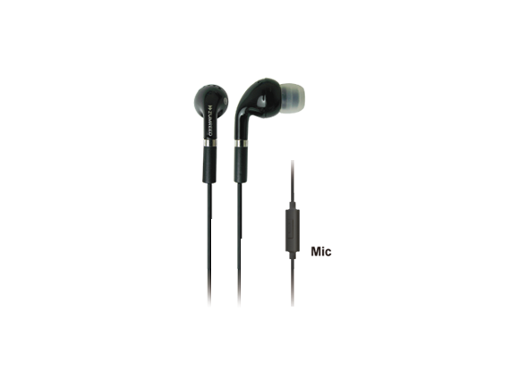 Tone ZHP-006S Black Canal Type Earphones