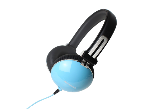 ZHP-1000 Portable Stereo Headphones Light Blue