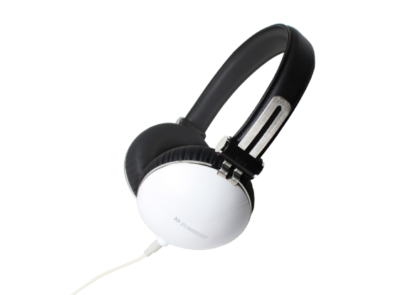 ZUMREED ZHP-1000 Portable Stereo Headphones White