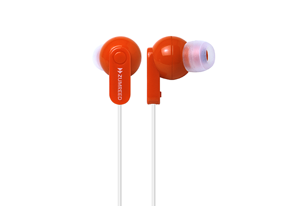 ZUMREED ZHP-017 Canal Type Earphone RED