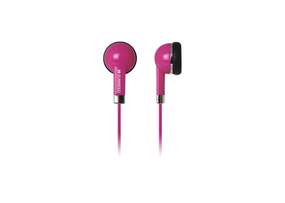 ZUMREED ZHP-019  Inner Ear Type Earphones Pink