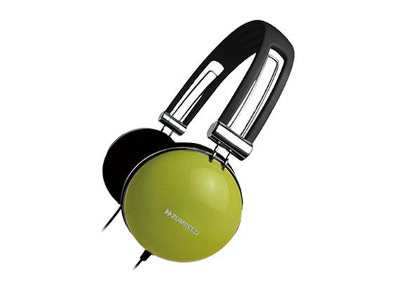 ZUMREED ZHP-400 Portable Stereo Headphones Olive