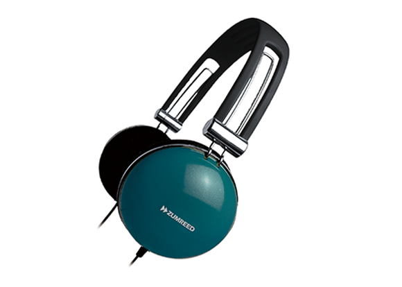ZUMREED ZHP-400 Portable Stereo Headphones Teal