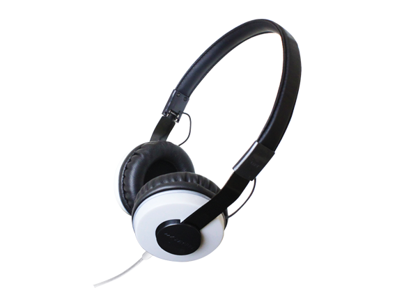 ZUMREED ZHP-500 Portable Stereo Headphones White